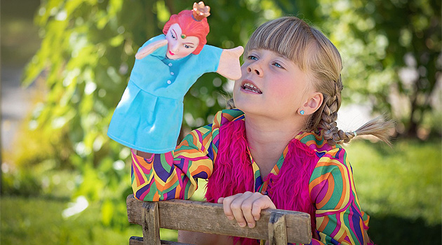 Zabawy z pacynkami dla dzieci